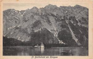 GG5642 st bartholoma am konigsee  germany