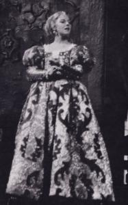Dorothy Tutin as Desdemona Royal Shakespeare Company Theatre Postcard