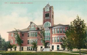 ASHLAND, OR Oregon     HIGH SCHOOL    c1910s     Postcard