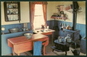 Upper Canada Village Kitchen of the Doctor's Office Morrisburg Ontario Postcard