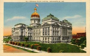 IN - Indianapolis. State Capitol