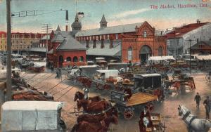 Canada The Market Hamilton Ontario Postcard