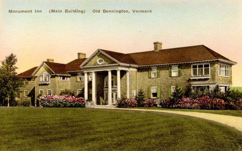 VT - Bennington. Monument Inn