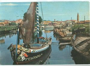 Italy, Caorle, Porticciuolo, used Postcard