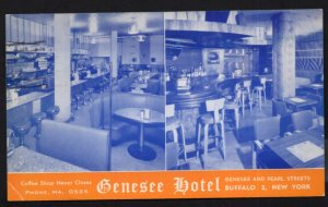 New York BUFFALO Interior The Genesee Hotel In the heart of downtown pm1958 - C