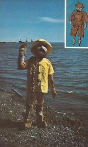 1st Place, Carnival Character Greeting Visitors to Feasts of Salmon, Carleton...