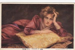Philip Boileau Thinking Of You Beautiful Lady 1916