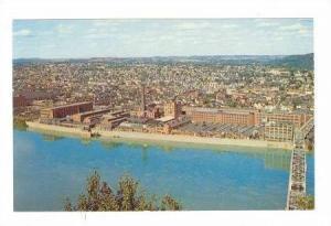 Bird's eye view of New Kensington, Pennsylvania,40-60s