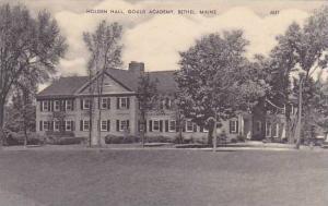 Maine Bethel Holden Hall Gould Academy Artvue