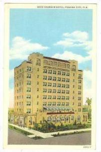 Dixie-Sherman Hotel, Panama City, Florida, 30-40s