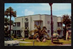 FL Mar Roy Apartments ST PETERSBURG FLORIDA Postcard PC