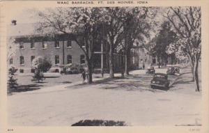 Iowa Des Moines WAAC Barracks Fort Des Moines 1942
