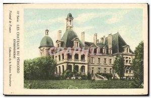 Postcard Old Castles of Perigord Eyssendieras