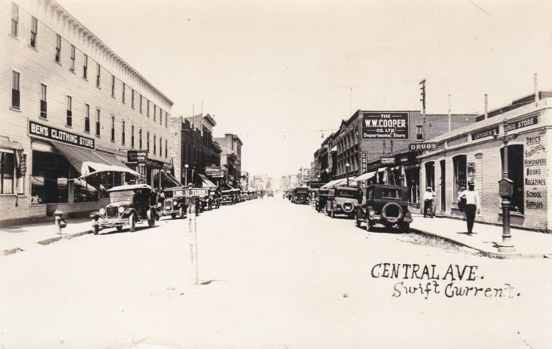 RP: SWIFT CURRENT, Saskatchewan, Canada, PU-1939; Central Avenue