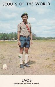 Boy Scouts of the World, LAOS, 1960´s