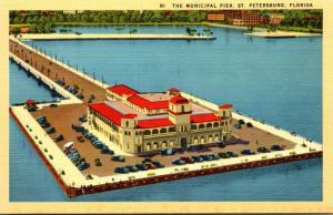 Florida St Petersburg The Municipal Pier