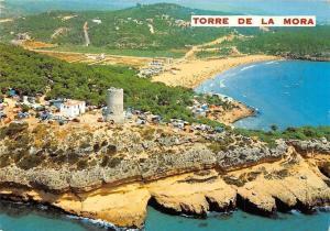 Spain Costa Dorada Tarragona, Camping Torre de la Mora Tower Panorama