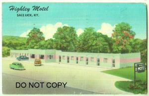 Highley Motel, Saltlick KY