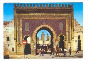 Porte de Boujeloud a FES, Morocco , PU-1985