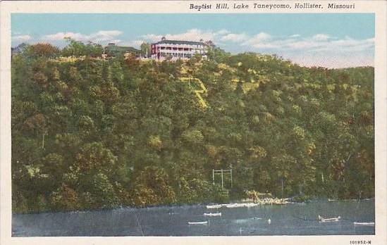 Missouri Hollister Baptist Hill Lake Taneycomo
