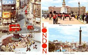 London United Kingdom, Great Britain, England Piccadilly Circus, Buckingham P...