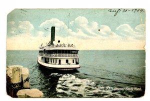 NJ - Atlantic Highlands. SS Sandy Hook