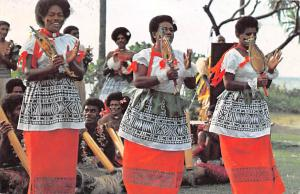 Fiji Meke, Men performing fierce club and spear dances  Meke, Performing fier...