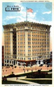 Washington Seattle Hotel Frye Curteich