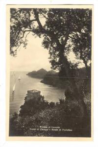 RP: Riviera di Levante, Castel di Paraggi e Monte di Portofino , ITALY . 1910...