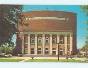 Unused Pre-1980 AUDITORIUM AT WINTHROP COLLEGE Rock Hill South Carolina SC L8609