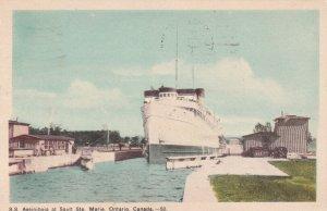 SAULT STE. MARIE , Ontario , Canada , 1930s; S.S. Assiniboia