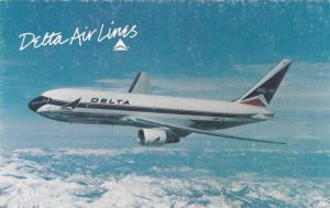 Detta Air Lines, The Boeing 767, a sleek twin-jet aircraft,  40-60s
