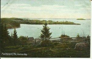 Machiasport, Me., Machias Bay