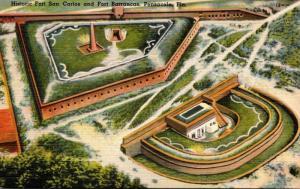 Florida Pensacola Fort San Carlos and Fort Barrancas