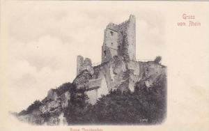Gruss Vom Rhein, Ruine Drachenfels, Germany, 1900-1910s