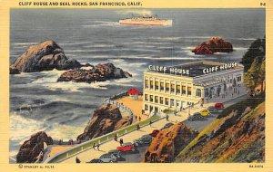 Cliff House and Seal Rocks San Francisco CA