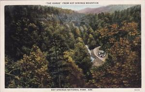 The Gorge From Hot Springs Mountain Hot Springs National Park Arkansas