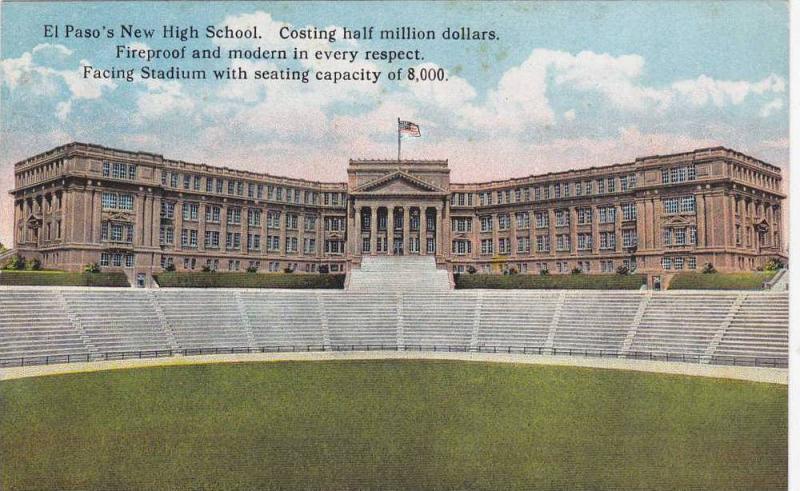 Stadium, El Pas's New High School, El Paso, Texas, 00-10s