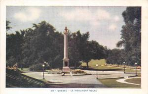 Quebec    Wolfe  Monument