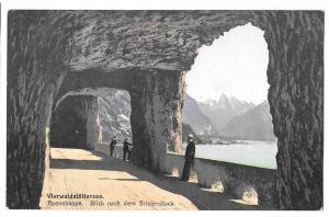Switzerland Lake Lucerne Axenstrasse Vierwaldstattersee
