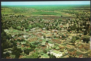 Ontario SMITHS FALLS Aerial View on the scenic Rideau Route - Chrome 1950s-1970s