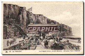 Treport - La Fregate - Director Henri Pontie - Old Postcard