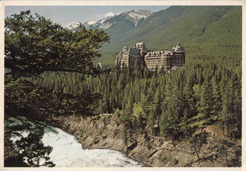 ZS11367 Banff Springs Hotel National Park used perfect shape