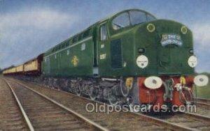 Master Cutler, Kings Kross, UK Train, Trains, Locomotive  Unused