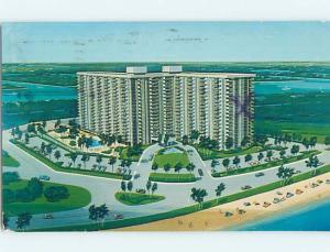 Pre-1980 APT MOTEL Pompano Beach By Hillsboro Inlet & Fort Lauderdale FL c3145
