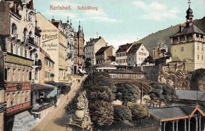 Czech R. Karlovy Vary, Karlsbad Schlossberg C. Pietzner Commerce Store