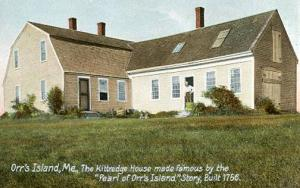 ME - Orr's Island, Pearl of Orr's Island The Kittredge House