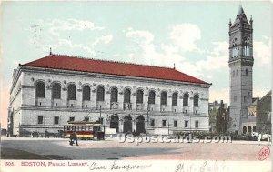 Public Library - Boston, Massachusetts MA