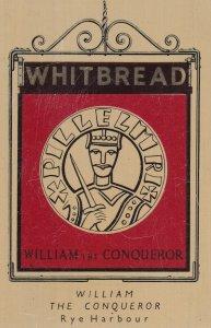 William The Conqueror Rye Harbour Sussex Metal Pub Advertising Card