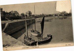 CPA CARTERET - La Chaussée (138134)